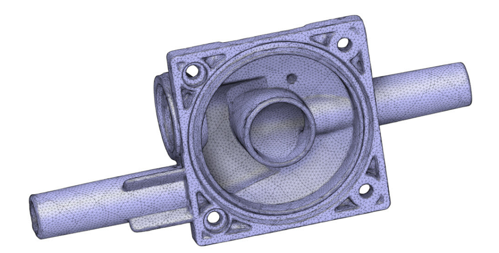 3D Modell Melkmaschine 3D-Scans